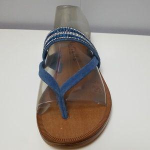 24da347e1ae43a Mariela Flat Sandals Flip Flops made in Italy 9